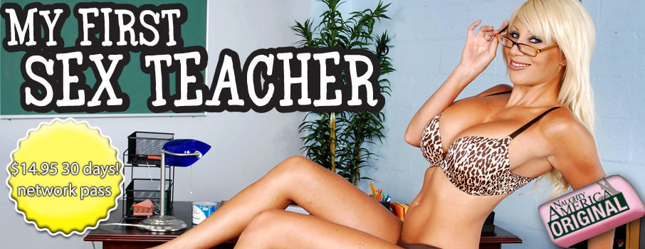 Naughty America  With My First Sex Teacher Discount: Was $24.95, Now Only $14.95 For 30 Days!